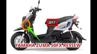 3. 2017 YAMAHA ZUMA 50FX REVIEW