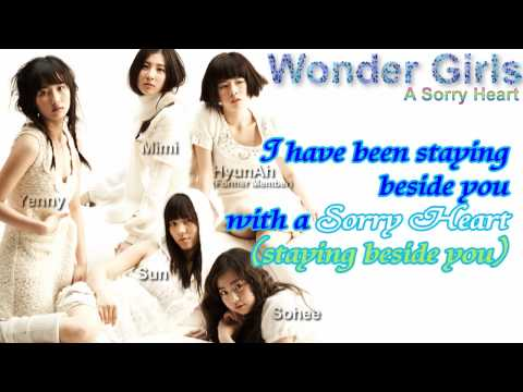 [ENG SUB] Wonder Girls – A Sorry Heart [HD]