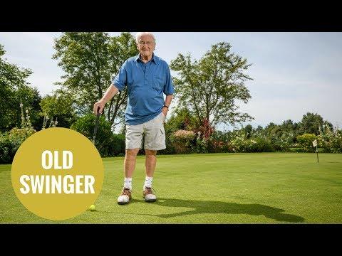 Grandad plays golf at 100-years-old