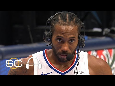 Kawhi Leonard after Clippers' Game 6 win: I did not want to go home | SportsCenter with SVP