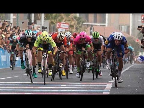 Viviani gewinnt die zweite Etappe des Giro d'Italia