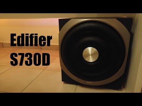 Edifier S730D | BASS TEST (видео)