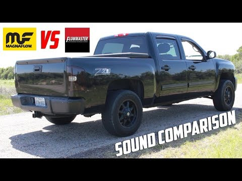 Flowmaster vs Magnaflow Sound Comparison (видео)