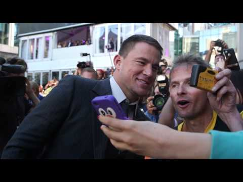 Foxcatcher: ChanningTatum TIFF Movie Premiere Gala Arrival