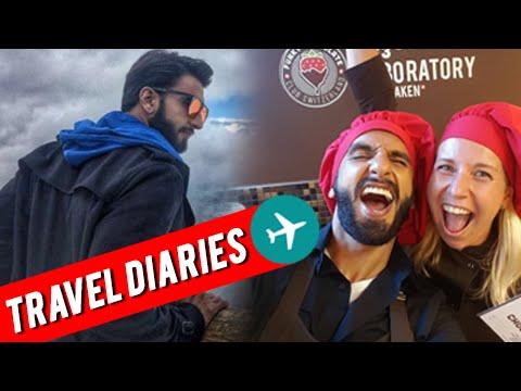 Ranveer Singh's SPECIAL TRAVEL DIARIES