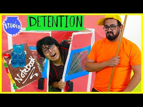 Back to School Challenge with DIY Edible School supplies! Teachers vs Students!!!!