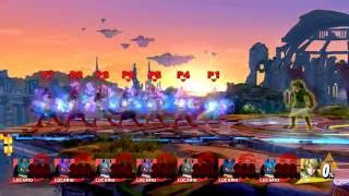Toon Link's Hero's Shield is also ridiculous.