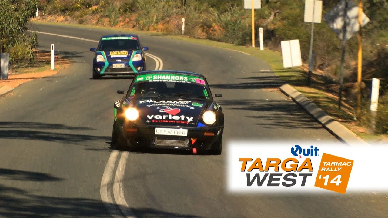 Leg 1 Highlights – Quit Targa West 2014