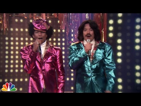 "Jimmy & Pharrell's '80s R&B Duo: ""Afro & Deziak"""