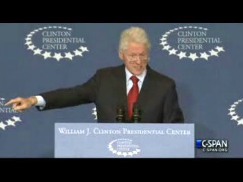 """President Clinton Defends the Health Care Law (The Affordable Care Act, aka """"Obamacare"""") Full Speech"""