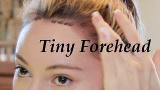 Video Get a Tiny Forehead Tutorial! ( Lower Hairline ) MP3, 3GP, MP4, WEBM, AVI, FLV Juli 2018