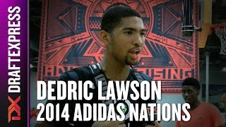2014 Dedric Lawson Interview - DraftExpress - AdidasNations