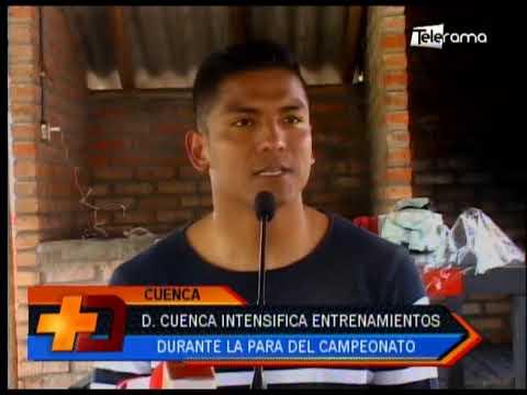 Deportivo Cuenca intensifica entrenamientos durante la para del campeonato