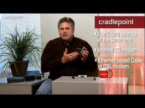 Cradlepoint  COR: IBR600 and IBR650 3G/4G Integrated Broadband Routers