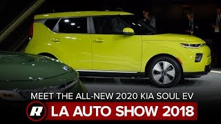 2020 Kia Soul EV: Good looks and a bigger battery | LA Auto Show 2018 by Roadshow