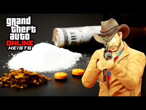 GTA 5 Heist Online Gameplay – Drug Dealing Heist! (GTA 5 DLC Walkthrough)