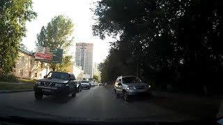 Борзый объезд пробки