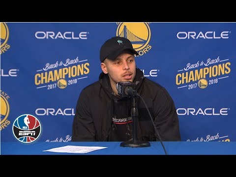 Video: Steph Curry on getting in zone, 41-point night: 'You don't see anything but the rim' | NBA Sound
