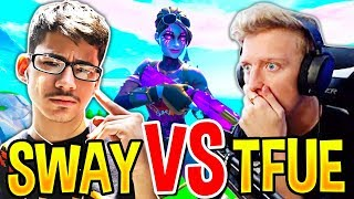 TFUE *FINALLY* BEATS FaZe SWAY in 1v1! (0 PING vs BEST CONTROLLER)