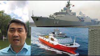 Video Chiến hạm Quang Trung lao ra Bãi Tư Chính – Hải Dương 8 ăn 10 cú đâm chí mạng? MP3, 3GP, MP4, WEBM, AVI, FLV Agustus 2019