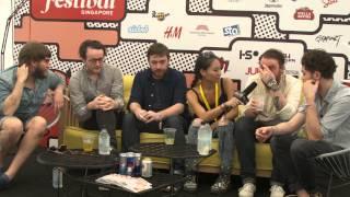 Video FLiP MUSIC INTERVIEW WITH FRIGHTENED RABBIT AT LANEWAY SINGAPORE 2014 MP3, 3GP, MP4, WEBM, AVI, FLV Juli 2018