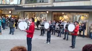 Party Rock Anthem - LMFAO / Flashmob Marchingband TSV Lauf Video