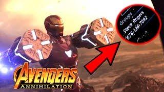 Avengers 4 Infinity War Hidden Easter Egg Reveal