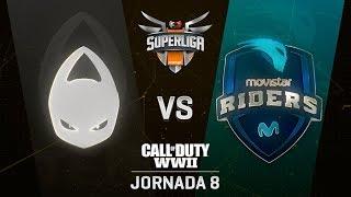 X6TENCE VS MOVISTAR RIDERS - SUPERLIGA ORANGE COD - JORNADA 8 - #SuperligaOrangeCOD8
