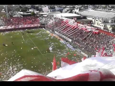 Unión vs Colón Santa Fe espectacular recibimiento - La Barra de la Bomba - Unión de Santa Fe