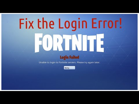 How To Fix The Fortnite Login Error (3 Options)