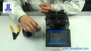 KL 280G Fusion Splicer Operating Core-Core & Clad - Clad Alignement PAS Technology Fiber core & clad display with high...