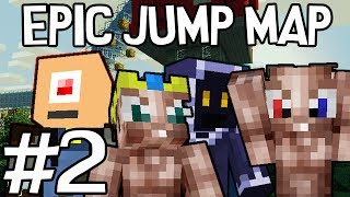 Minecraft - Epic Jump Map met Ronald, Milan, Pieter en Don #2