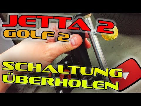 Vw Jetta Mk2 Coupe // Schaltgestänge erneuern überholen