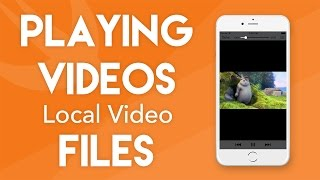 Play Local Video Files in Swift 3