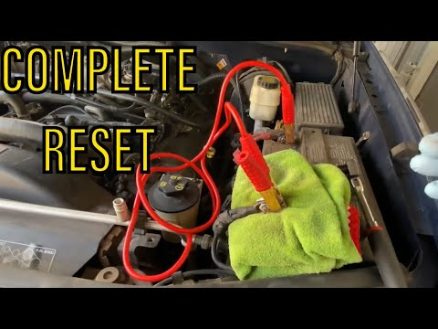 How To Reset All ECU's and Control Modules in your Car or Truck