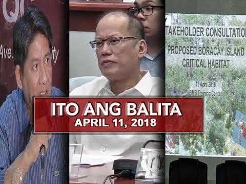UNTV: Ito Ang Balita (April 11, 2018)