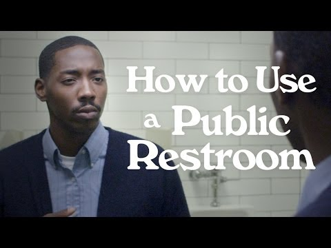 How to Use a Public Restroom