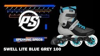 Inlines Powerslide Swell Lite Grey Blue 3x100 TRINITY