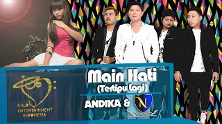ANDIKA & D'NINGRAT - MAIN HATI - OFFICIAL LYRICS VIDEO