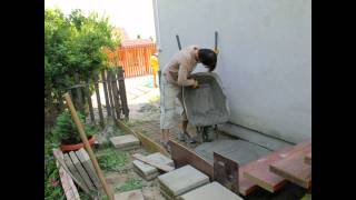 First Time Lapse betonozás