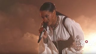 Video Rihanna FourFiveSeconds | Live at Global Citizen Festival 2016 MP3, 3GP, MP4, WEBM, AVI, FLV Juli 2018