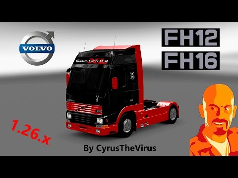 Volvo FH Mk1 (FH12 & FH16) 1.26.x DLCS ADDON