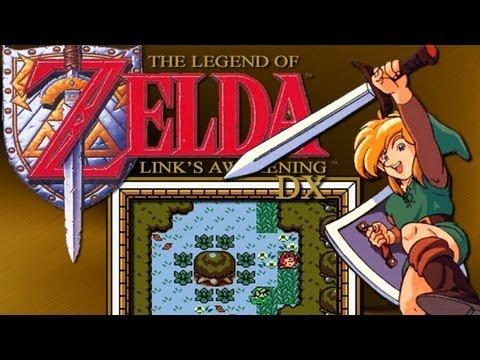 the legend of zelda link's awakening gameboy