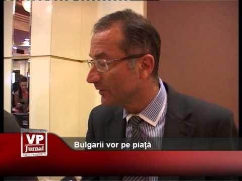Bulgarii vor pe piață