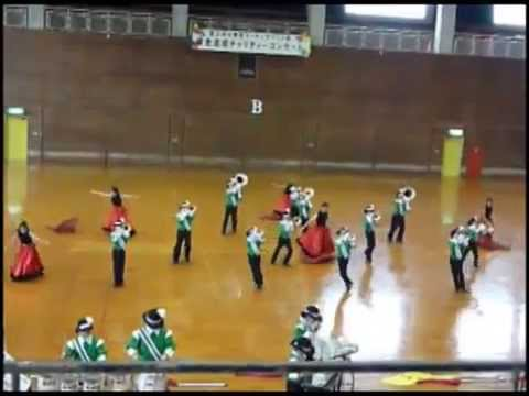 IMPRESSIVE & CUTE Elementary School Marching Band Performance Okinawa, Japan 高江洲小学校マーチング 2014