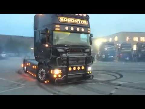 scania r620 drifting!
