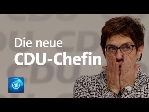 Annegret Kramp-Karrenbauer (AKK) ist neue CDU-Chefi ...