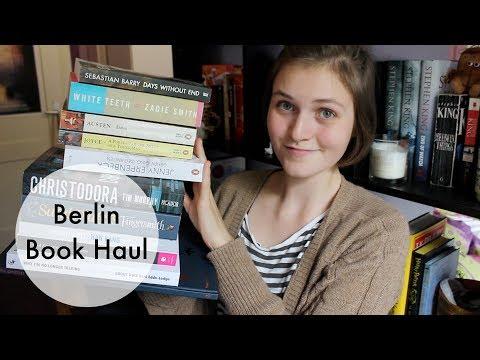 Berlin Book Haul [CC]