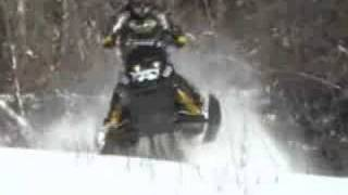 9. Skidoo Rev 440, Snopro 440 Trailer