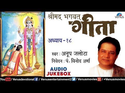 Shreemad Bhagwat Geeta Vol.18  ?????? ???? ???? ?????? ??  Anup Jalota  Bhagwat Geeta In Hindi